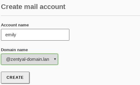 Electronic Mail Service (SMTP/POP3-IMAP4) — Zentyal 6 0