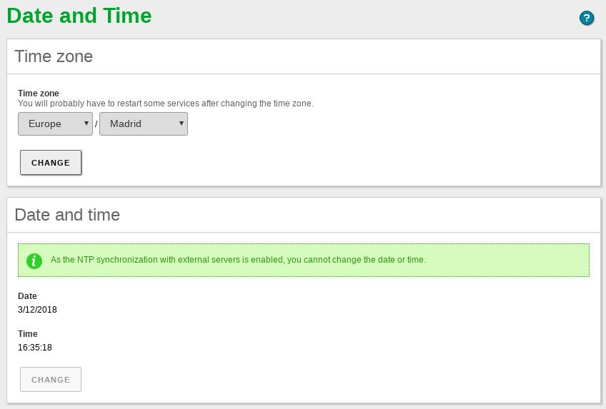 Time synchronization service (NTP) — Zentyal 6 0 Documentation