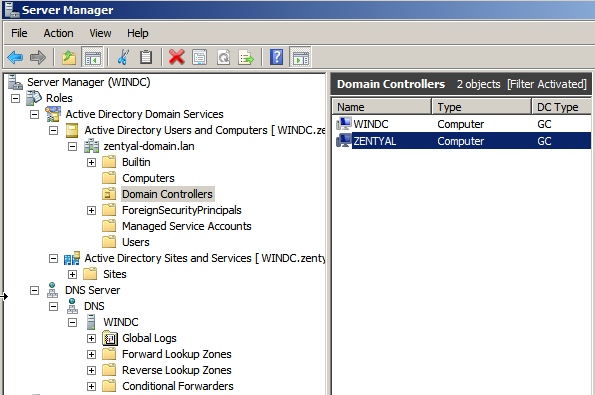 Domain Controller and File Sharing — Zentyal 6 0 Documentation